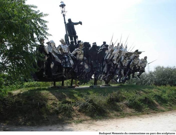 Budapest memento du communisme au parc des sculptures