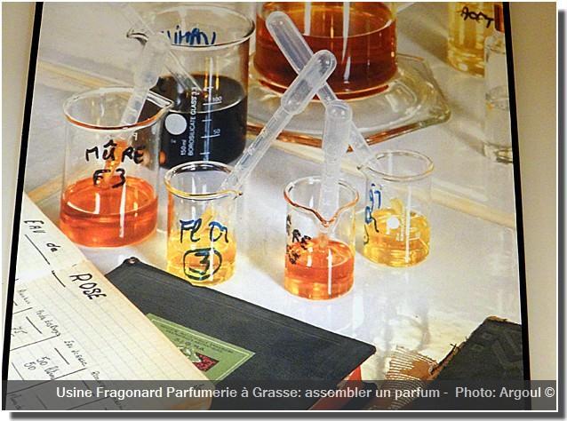 Usine Fragonard Grasse assembler un parfum