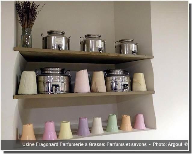 Usine fragonard Grasse parfums savons