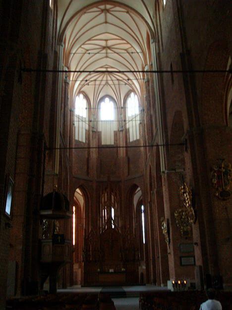 Riga Basilique luthérienne Saint Pierre