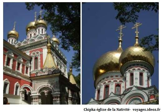 Chipka église mémorial de la nativité
