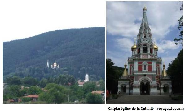 Eglise russe de Chipka