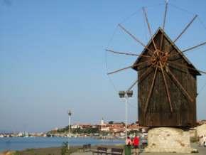 Nesebar moulin en bois