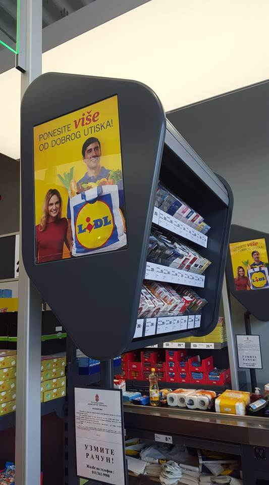 cigarettes vendues chez lidl en serbie
