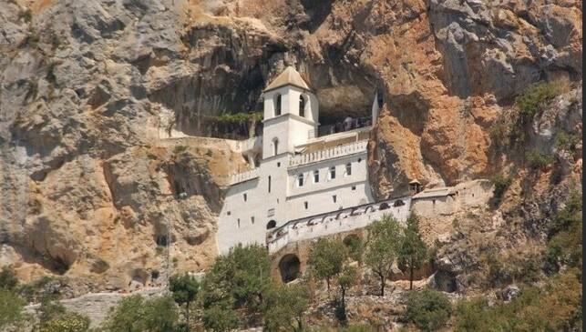 ostrog monastère orthodoxe du montenegro