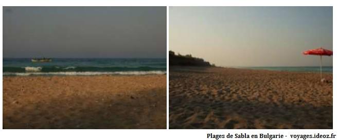 plages de Sabla en Bulgarie