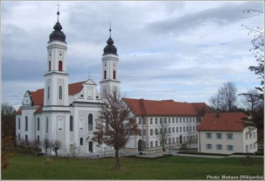 abbaye irsee en Bavière
