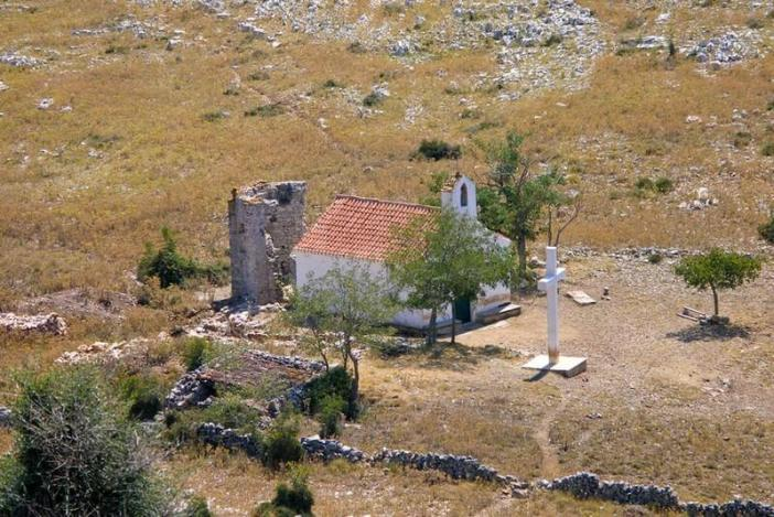 Iles Kornati Notre Dame de Tarac