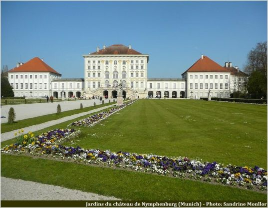 Munich Chateau Nymphenburg et jardins