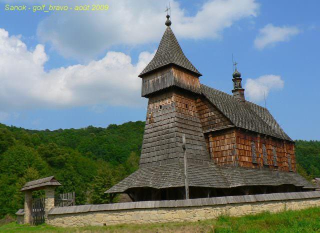église de bois et musée a sanok