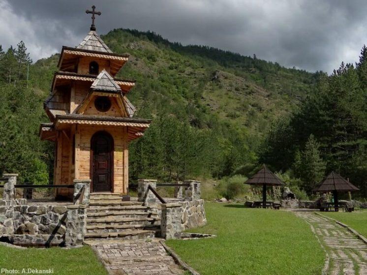 Jatarice Chapelle saint Andrei et mémorial russe