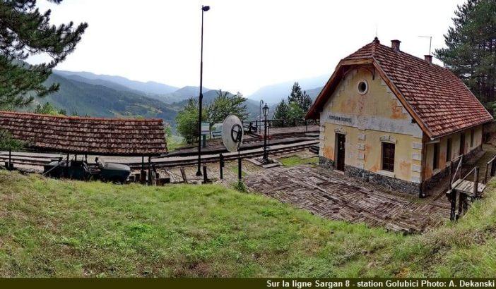 station de gare golubici sargan 8 life is a miracle