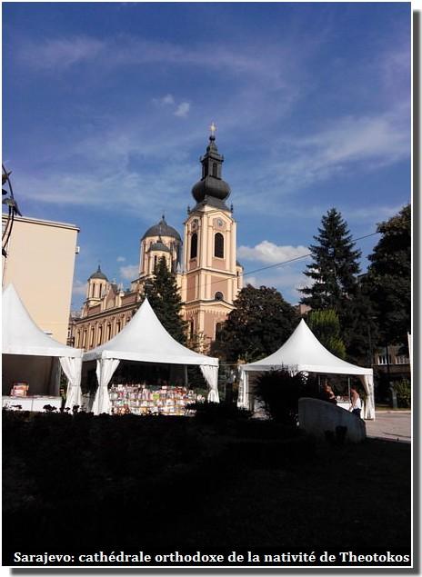 Sarajevo cathédrale orthodoxe de la nativité de Theotokos
