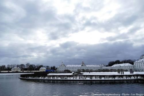 Chateau Nymphenburg en hiver