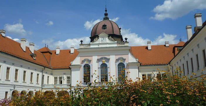 Château royal de Gödöllö près de Budapest en Hongrie
