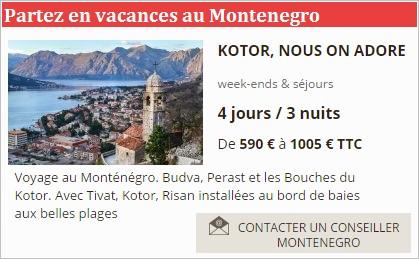 Comptoir voyage Kotor