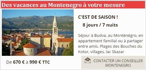 Comptoir voyage Montenegro