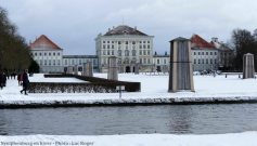 Jardins de Nymphenburg en hiver