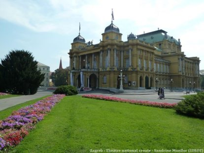 Theatre national croate de Zagreb
