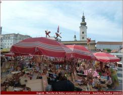 Zagreb marché de dolac artisanat