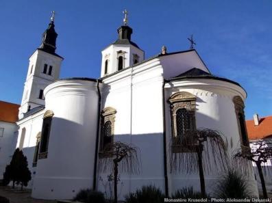 Eglise du Monastère Krusedol Serbie