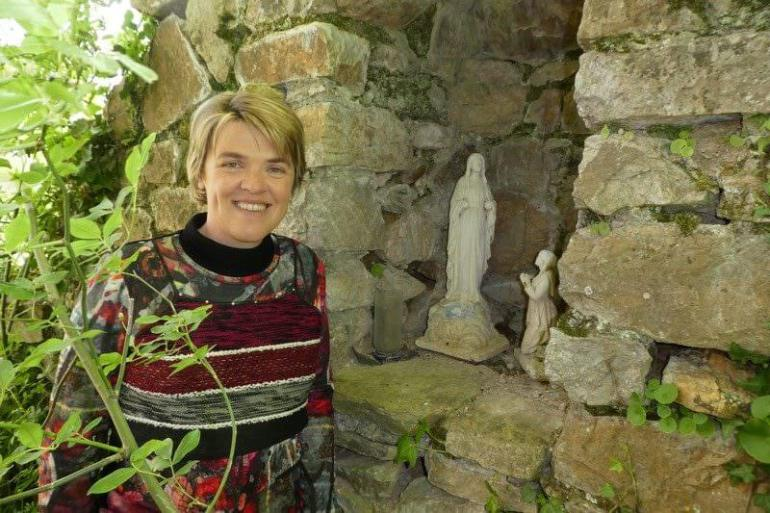 Vierge à l'abbaye benedictine d'en Calcat