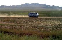 steppe mongole en 4x4