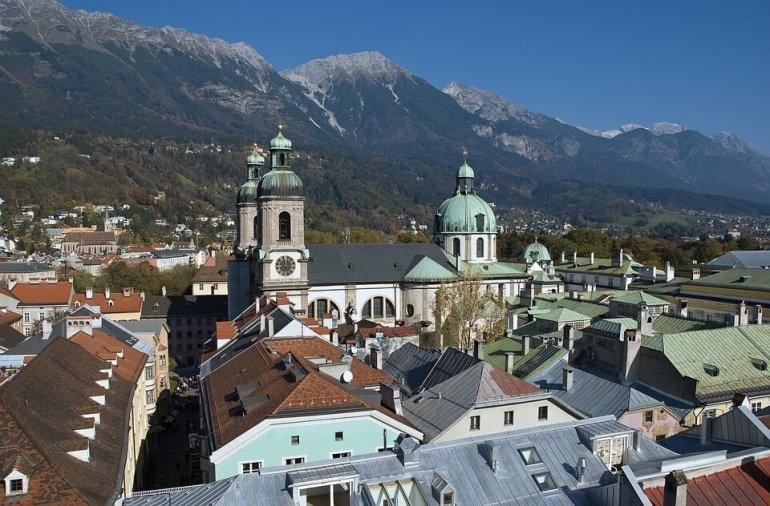 Innsbruck Dom cathédrale saint Jacques