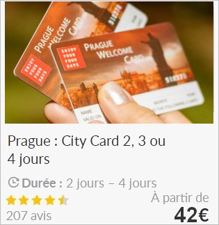 prague welcome card