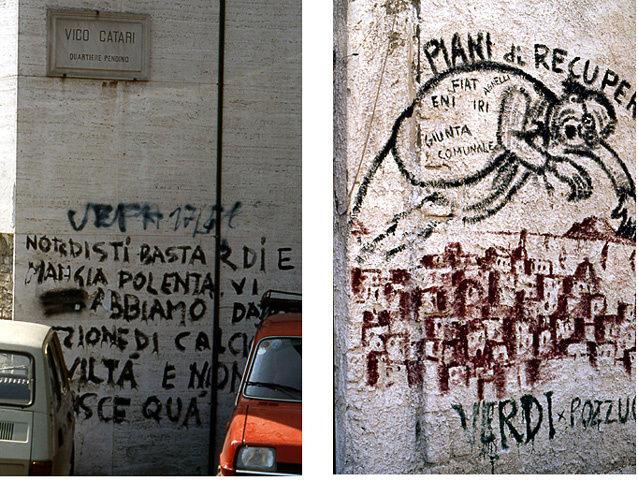 naples graffittis
