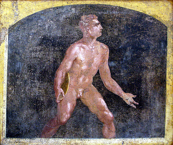 naples musée archeologique discobole