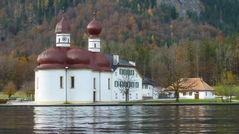 Chapelle Sankt Bartholomä am Konigssee
