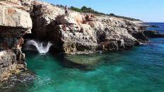 Cap Kamenjak en Istrie bleue