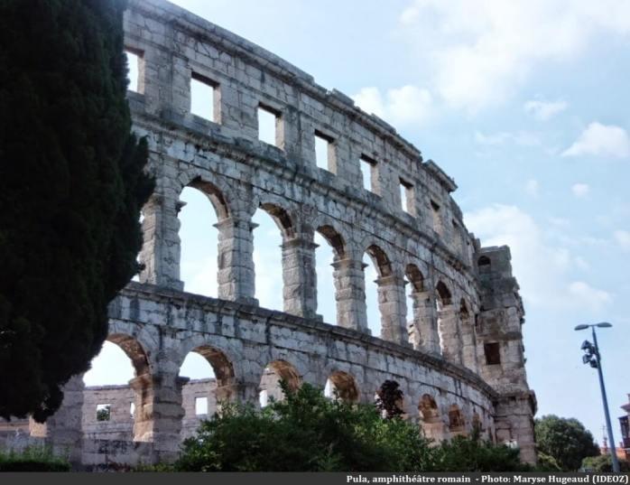 Pula amphithéâtre romain