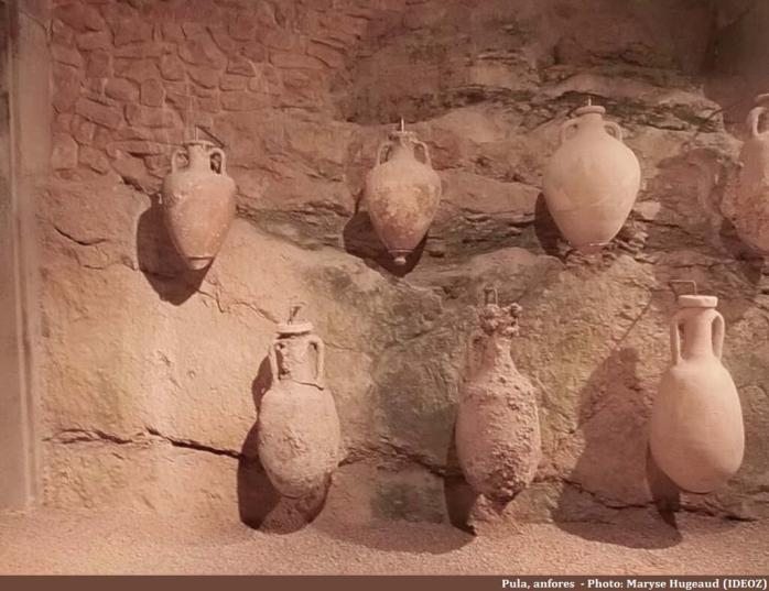 Pula musée d'archéologie anfores