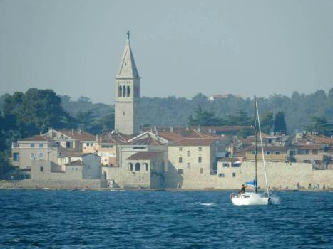 Village de l'Istrie bleue