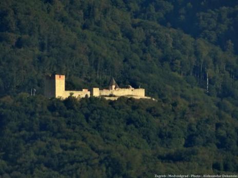 Zagreb chateau Medvedgrad