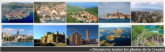 photos sur la croatie