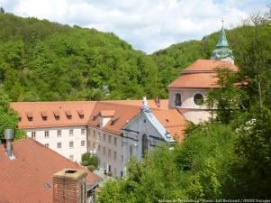 Abbaye de Weltenburg en Bavière près du Danube