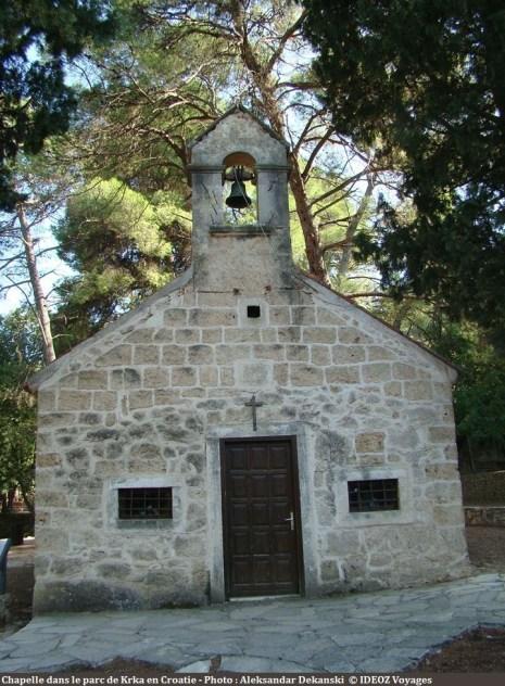 Chapelle Saint Nicolas à Krka