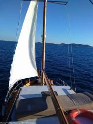 Iles Kornati à bord du bateau Luigia avec Tvrtko