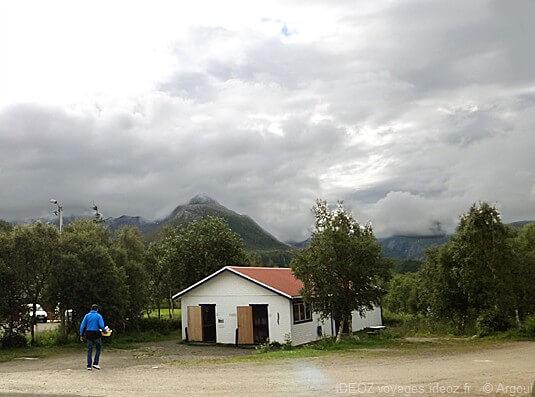 lofoten crépuscule en Norvège
