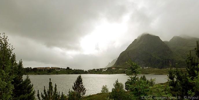 lumieres sur les îles lofoten