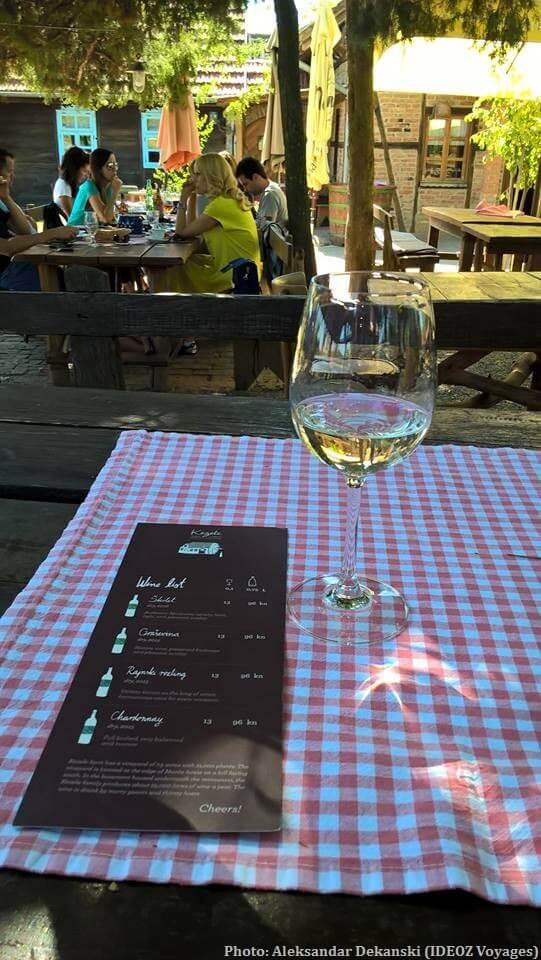 Agrotourisme Etno vino dégustation du vin de Janko Kezele