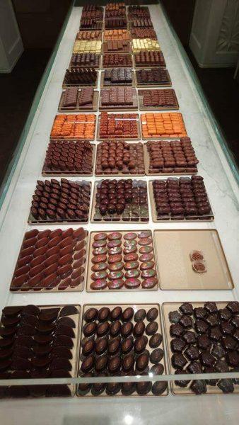 Chocolats à Budapest confiserie Ghraoui