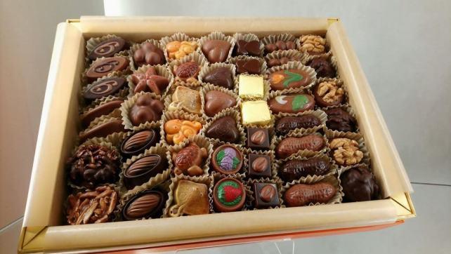Chocolats chez Ghraoui à Budapest