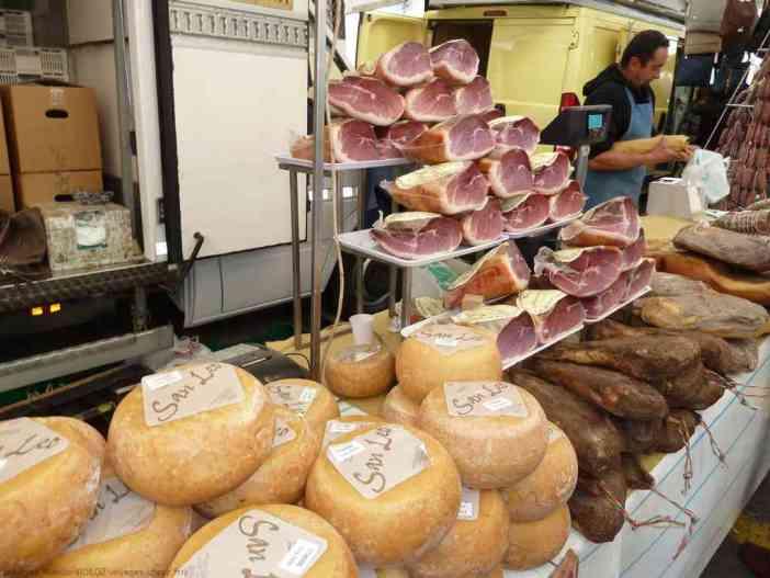 jambon à l'italienne et fromages san Leo