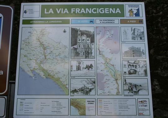 via Francigena cinque terre