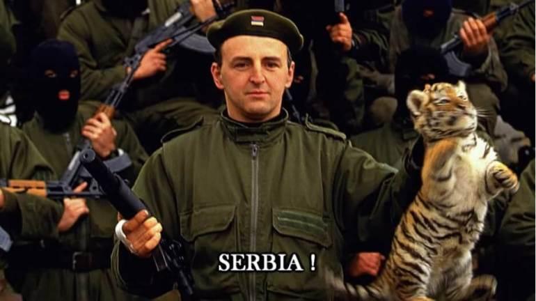 Arkan et les milices paramilitaires serbes Tigres