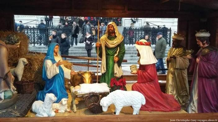 Crèche de Noël à Budapest